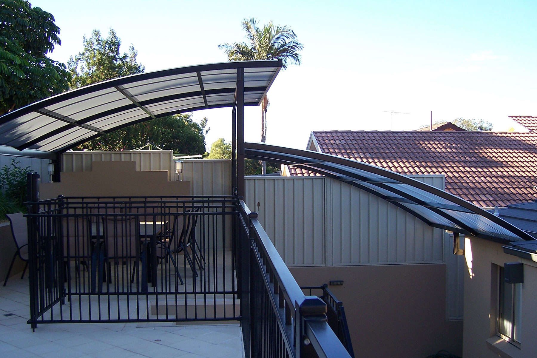 Wave Style Roof