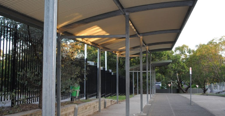 Shaded School Areas